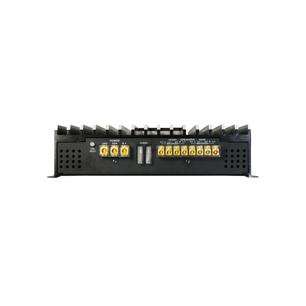 Amplificatore per auto DB4.1 1600W stereo 4 canali Bass Face
