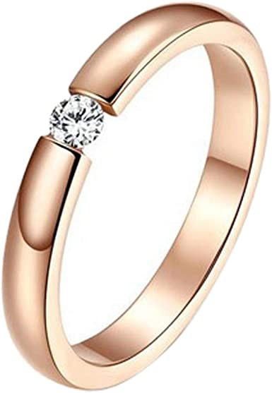 Cubic Zirconia CZ Diamond Eternity Engagement Wedding Band Ring 925 Sterling Silver Ring