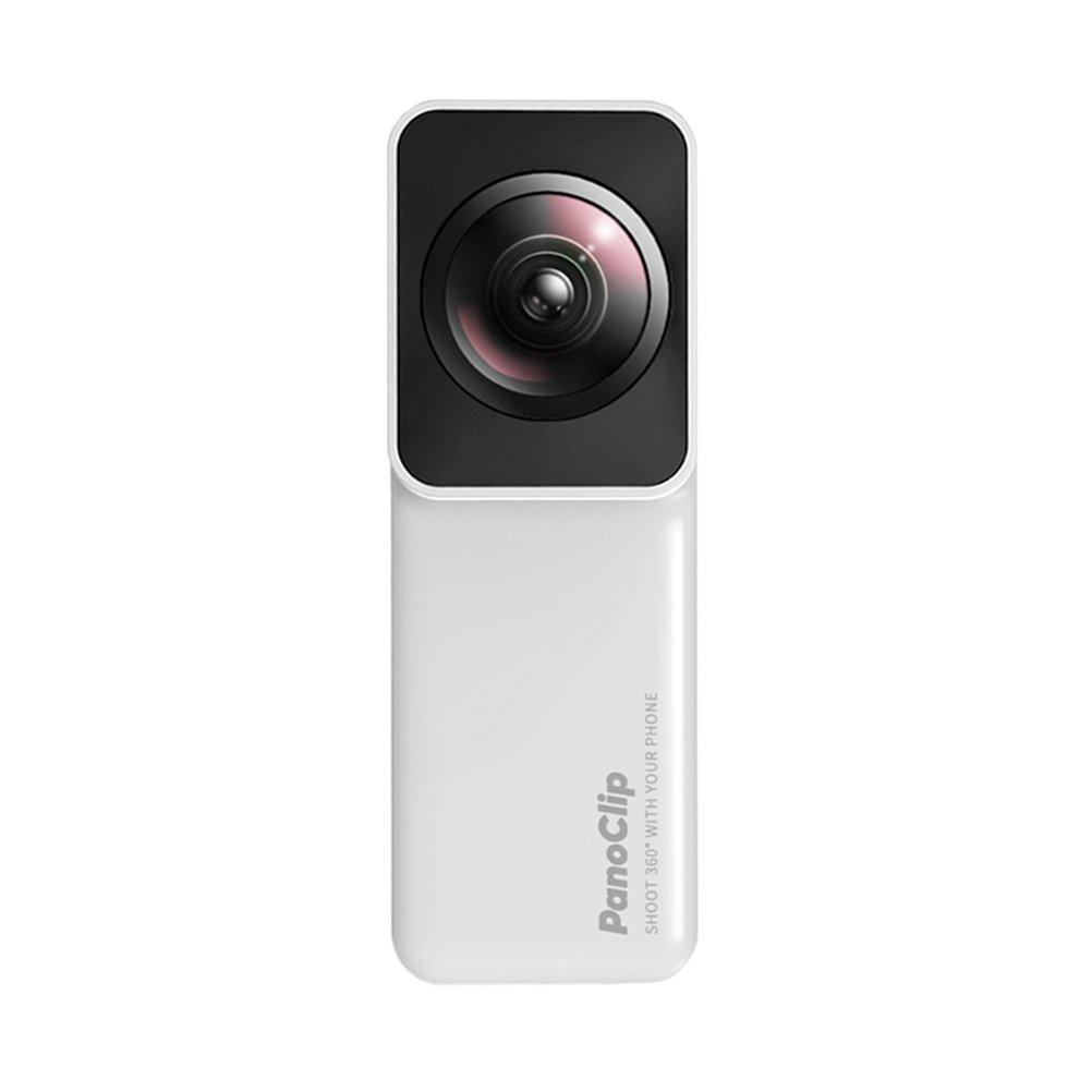 Hemobllo Snap-On 360° Lens Compatible with iPhone Capture 360 Degree Panoramic Camera Lens Instant Sharing to Your Social Medias (7 Plus and 8 Plus)