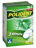Polident Tablets 84 Size 84s Polident 3 Minute Denture Cleanser