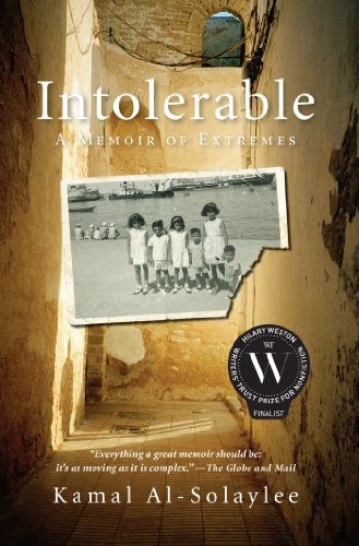 Intolerable: A Memoir of Extremes cover