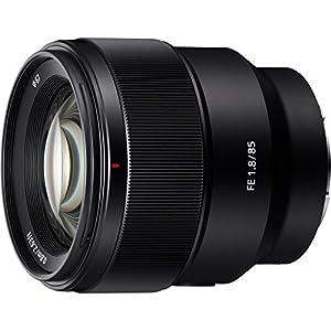 Sony SEL85F18 85mm F/1.8-22 Medium-Telephoto Fixed Prime Camera Lens, Black | Protection Filter