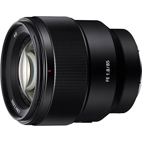 Sony SEL85F18 85mm F/1.8-22 Medium-Telephoto Fixed Prime Camera Lens,...