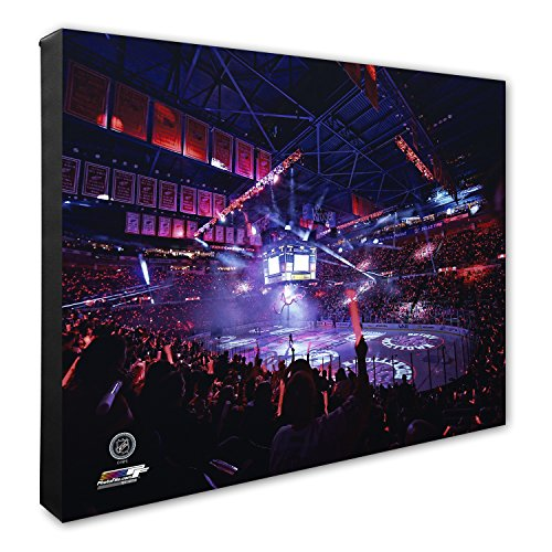 Hockey Art Detroit Red Wings - Photo File NHL Detroit Red Wings Joe Louis Hockey Arena Canvas Artwork, 16