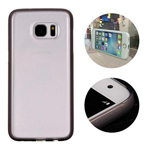Highdas Manos libres Tecnología Caso selfie prueba de golpes para Anti-Gravity Nano-aspiración Samsung Galaxy S7 grey