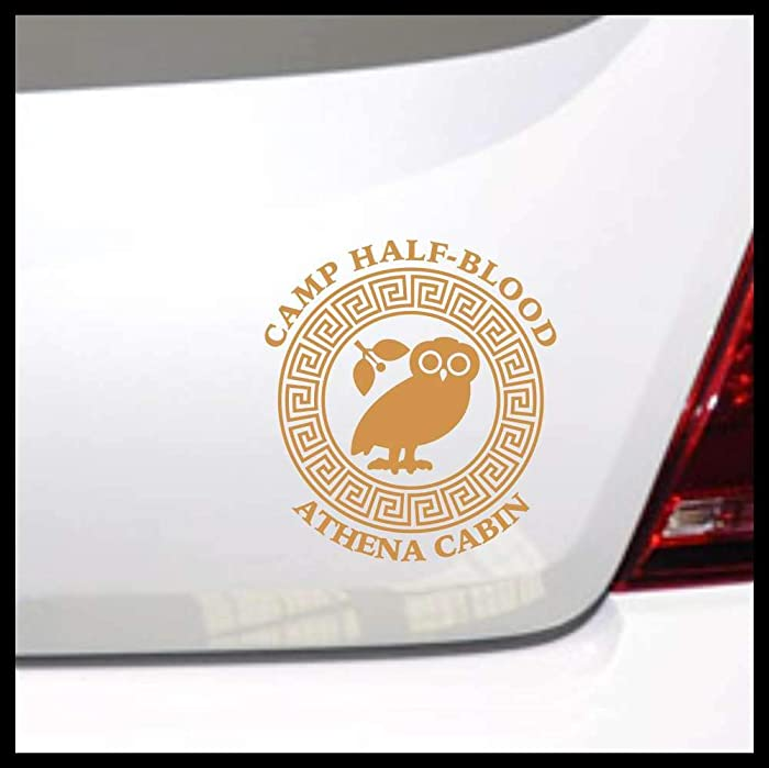 Top 9 Percy Jackson Laptop Sticker