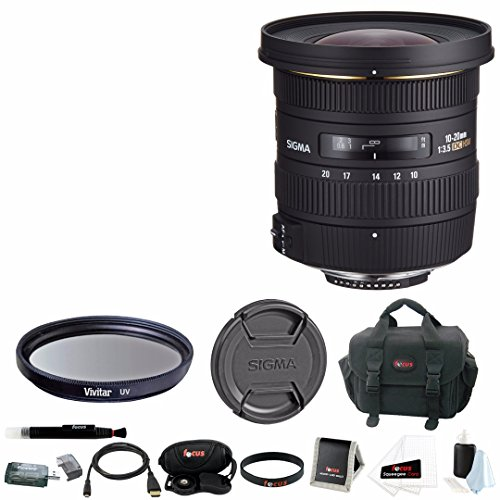 Sigma 10-20mm F3.5 EX DC HSM Wide angle lens for Nikon - 8