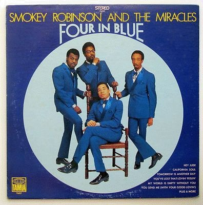 Smokey Robinson & The Miracles: Four In Blue - Tamla - LP - USA