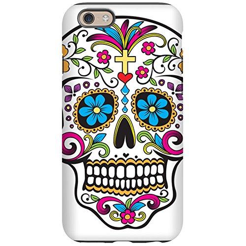 CafePress - Sugar Skull iPhone 6 Tough Case - iPhone 6/6s Phone Case, Tough Phone Shell