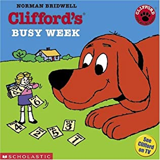 book cover of Clifford\'s Busy Week