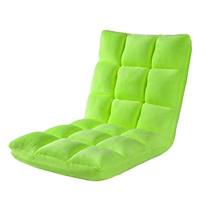 Home Furniture Furniture Fashion Easy Folding Single Small Bean Bag Sofa Comfortable Waist Protective Bed Backrest Chair Floor Lounger Bag Bean Sofas Fashionable Patterns