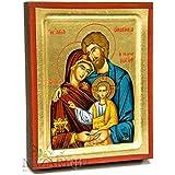 Jerusalem Holy Family Of Jesus Byzantine Wood Icon Christian 5.1