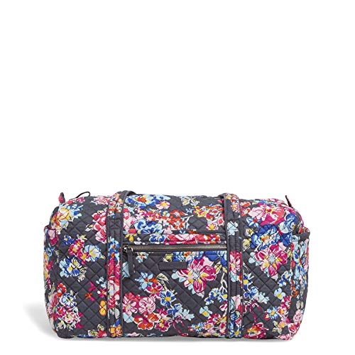 Vera Bradley Iconic Small Duffel, Signature Cotton, Pretty - Cotton Duffle