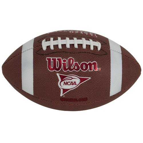 Wilson NCAA Red Zone Series Composite Leather Pee Wee Size Football | WTF1571ID - Pee Football Leather Composite Wee