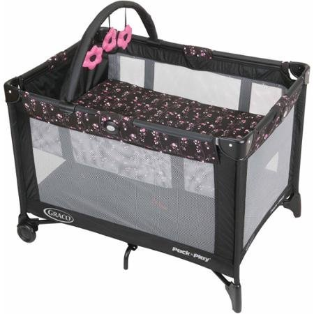 Graco Pack 'N Play with Automatic Folding Feet Playard, Priscilla by Graco