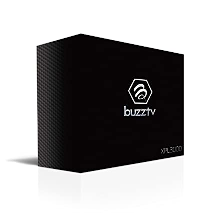 BuzzTV XPL3000 Android Based IPTV Set-top-Box and Streaming Media Player  (Black)