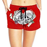 Swimming Trunks for Women Skull Couple