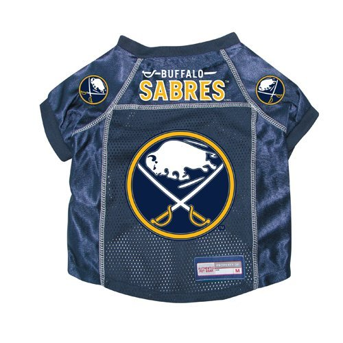 Buffalo Sabres Premium Pet Dog Hockey Jersey w/ Name Tag LARGE