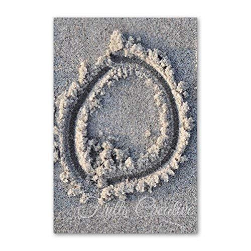 Alphabet Photography by Fritts Creative Letter O88 Beach Themed 4x6 Print