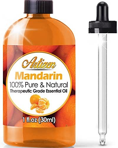 Artizen Mandarin Essential Oil (100% PURE & NATURAL - UNDILUTED) Therapeutic Grade - Huge 1oz Bottle - Perfect for Aromatherapy, Relaxation, Skin Therapy & More!