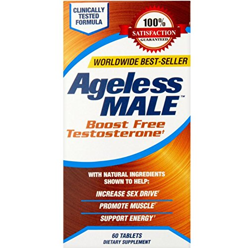New Vitality Ageless Male Support Tablets 60 ea (Pack of 3)