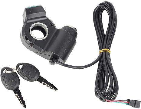 VGEBY1 Scooter eléctrico con Acelerador, voltímetro para Bicicleta ...