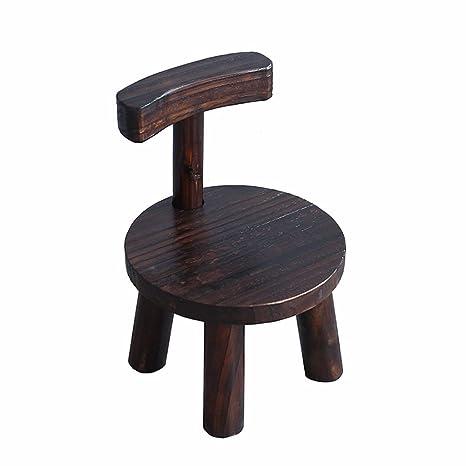 Terrific Amazon Com Hzpxsb Small Wooden Bench Small Bench Wood Stool Inzonedesignstudio Interior Chair Design Inzonedesignstudiocom