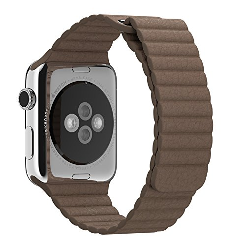 Apple 42MM Large Leather Watch