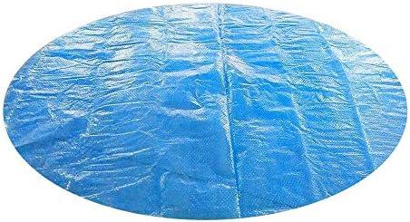 Damonday - Cubierta redonda para piscina, antipolvo, protección solar, cubierta para piscina, protección para piscina, fácil juego de piscina, cubierta para lona: Amazon.es: Jardín
