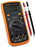 Multimeter-LODESTAR LD9815B Handheld Digital Multimeter - Multi Tester with 4 Digital Backlight LCD Display & a Kickstand, Auto Ranging, Auto Power off,Diode test, Measure AC/DC Current, AC/DC Voltage