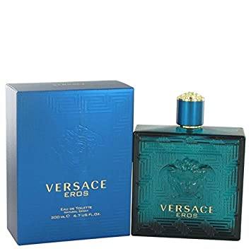 Versace Eros by Versace Eau De Toilette Spray 6.7 oz for Men – 100 Authentic