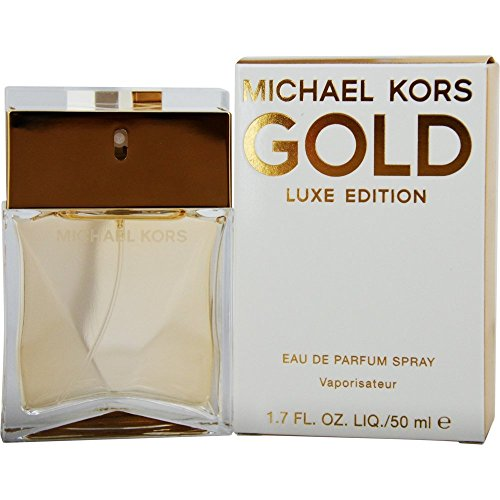 Michael Kors Gold Luxe Edition Eau De Parfum Spray, 1.7 Ounce