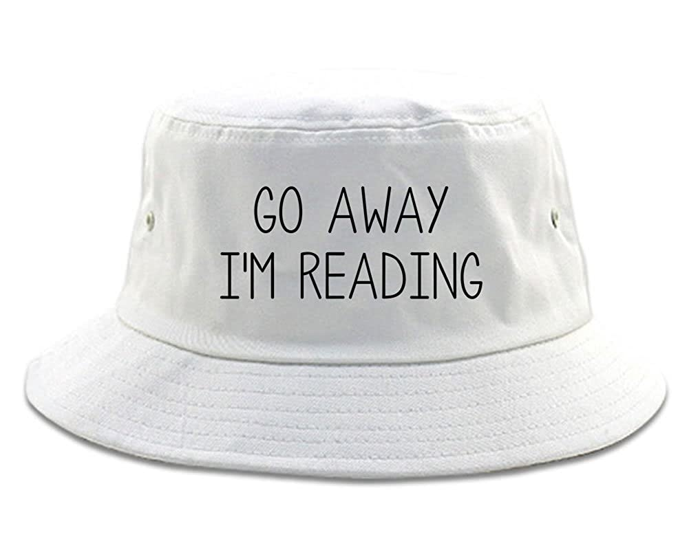 FASHIONISGREAT Go Away Im Reading Bucket Hat
