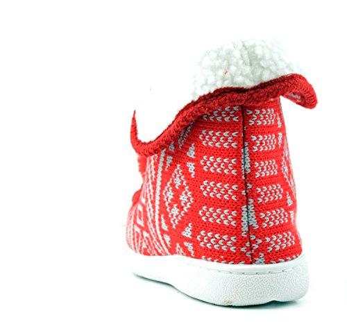 Scarpette Da Donna Rosso Pantofola Della Fortuna