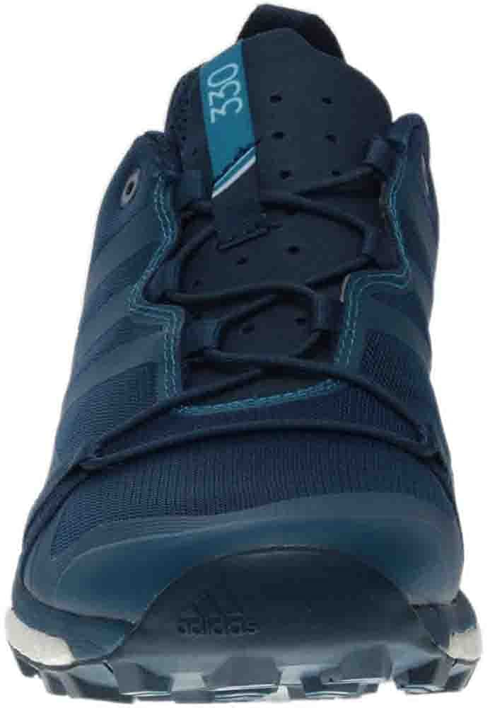 adidas outdoor Mens Terrex Agravic Blue Night//Mystery Petrol//White Athletic Shoe