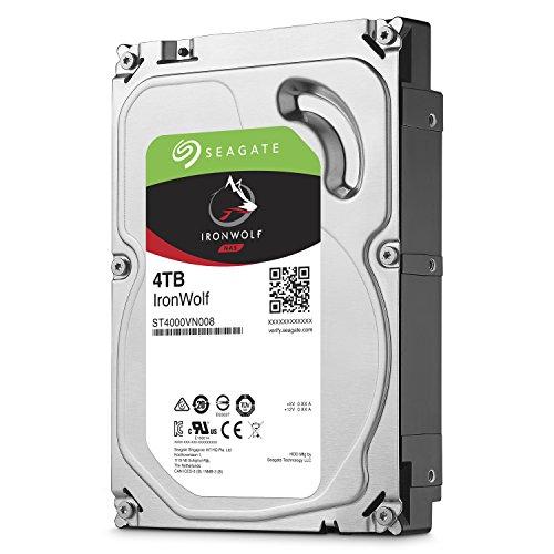 IRONWOLF 4TB NAS - IRONWOLF 4TB NAS 3.5IN 6Gb/S SATA 64MB