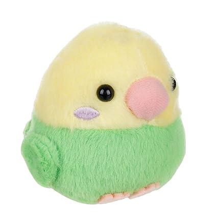 Amazon.com: Amuse Parakeet - Peluche con llavero, 4.0 in ...