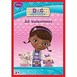 Paper Magic 32CT Showcase Doc McStuffins Kids Classroom Valentine Exchange Cards