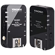 Yongnuo YN622 Wireless ETTL Flash Trigger Receiver Transmitter Transceiver