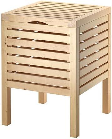 Ikea Molger Tabouret De Rangement Bouleau Amazon Fr Cuisine Maison