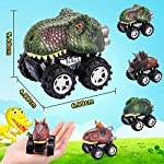 SOKY Car Toys for 3-8 Year Old Boys, Pull Back Cars Dinosaur for 2-8 Year Old Boys Popular Easter Gifts for 3-8 Year Old…
