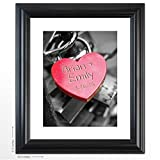 Best Amazon Home Services Friend Keys - Personalized Wedding Gift -Key To My Heart Review