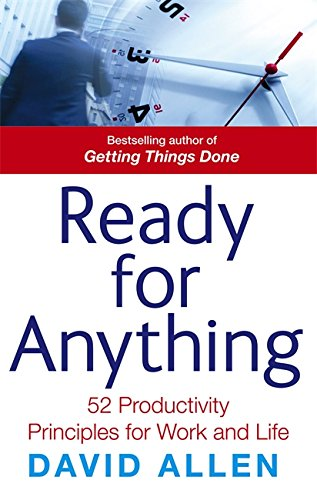 Download Ready for Anything: 52 Productivity Principles for Work and Life pdf epub