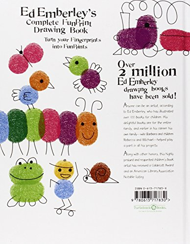 Ed Emberley's Complete Funprint Drawing Book (Turtleback School & Library Binding Edition) by Turtleback (Image #1)