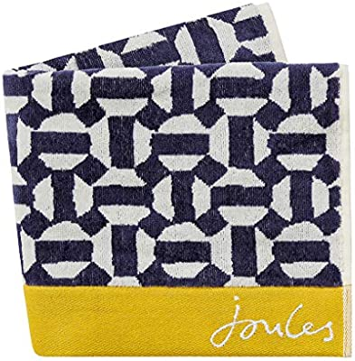 Navy Joules Navy Star Hand Towel