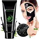 #1: Blackhead Remover Mask, Activated Charcoal Face Mask Peel Off Mask Deep Cleansing Facial Mask 60g (black1)