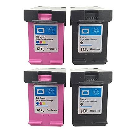 inkmate 4 Pack - Cartucho de tinta remanufacturado reemplazo para ...