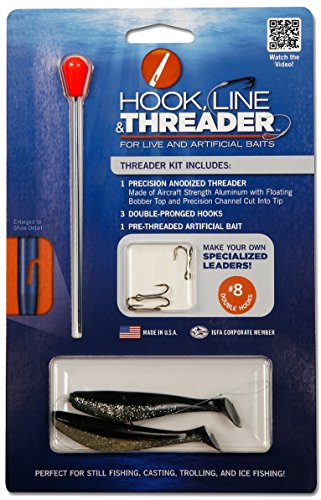 (Complete Hook, Line & Threader Kits - Choose from 7 Hook Size Kits (#8 Hook Kit))