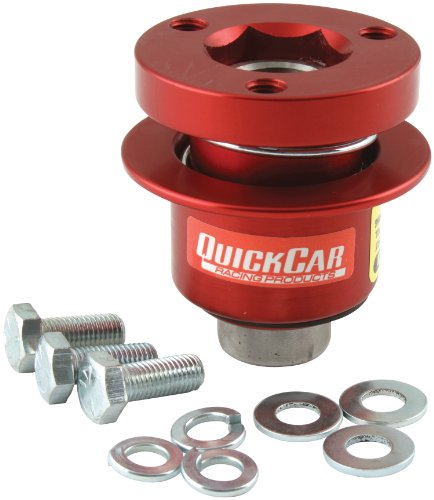 QuickCar Racing Products 68-012 360 Degree Release Style Steering Wheel Disconnect