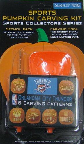 (NBA Oklahoma City Thunder Pumpkin Carving Kit )